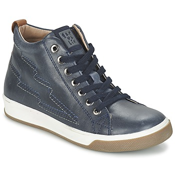 Shoes Boy High top trainers Garvalin VALIRA MARINE