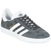 Shoes Low top trainers adidas Originals GAZELLE Grey / Dark