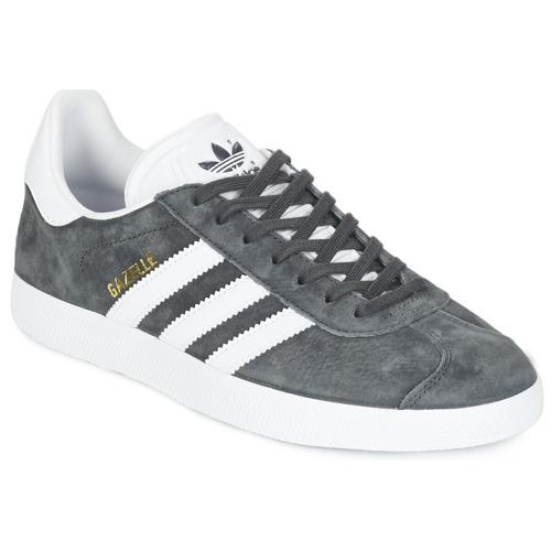 Esencialmente Modernización Amanecer  adidas Originals GAZELLE Grey / Dark - Fast delivery | Spartoo Europe ! -  Shoes Low top trainers 94,95 €