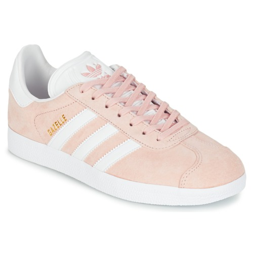 Shoes Women Low top trainers adidas Originals GAZELLE Pink