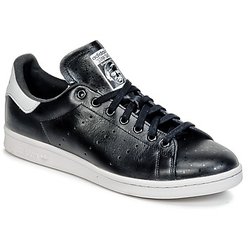 Shoes Low top trainers adidas Originals STAN SMITH Black