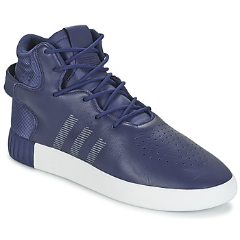 Shoes Men High top trainers adidas Originals TUBULAR INVADER Marine