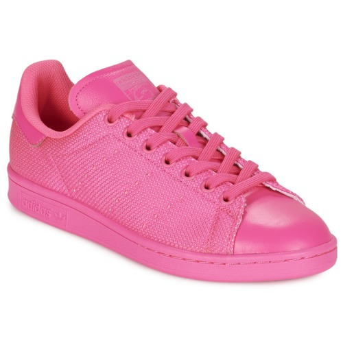 Shoes Women Low top trainers adidas Originals STAN SMITH Pink