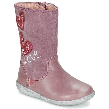Shoes Girl Boots Agatha Ruiz de la Prada BIGI Pink