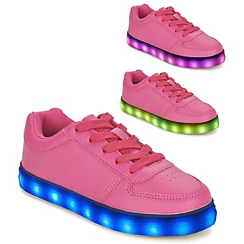 Shoes Girl Low top trainers BEPPI ELEL Pink