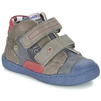 Shoes Boy Mid boots Mod'8 KINZO MARINE / Grey