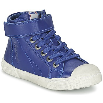 Shoes Boy High top trainers Mod'8 KANDINSK Blue