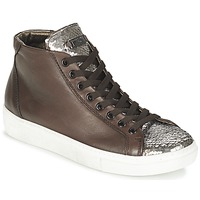 Shoes Women High top trainers Tosca Blu ALEXA Brown / Silver