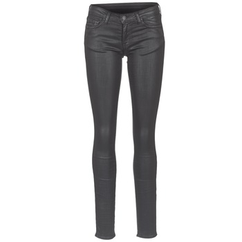 material Women slim jeans Cimarron ROSIE DENM WAX Black / Oil