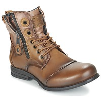 Shoes Women Mid boots Bunker SARA Brown