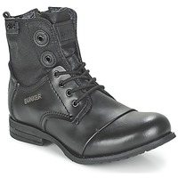 Shoes Women Mid boots Bunker SARA Black