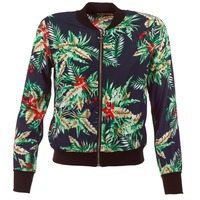 material Women Jackets / Blazers Moony Mood MIBOU Marine / Green