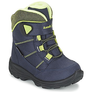 Shoes Children Snow boots KAMIK STANCE Marine / Citron
