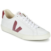 Shoes Low top trainers Veja ESPLAR White / Red