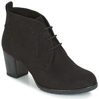 Shoes Women Ankle boots Marco Tozzi POUSSAR Black