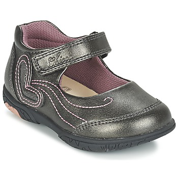 Shoes Girl Ballerinas Chicco CINDRA Grey
