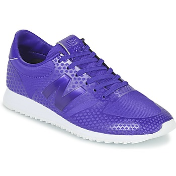 Shoes Women Low top trainers New Balance WL420 Violet