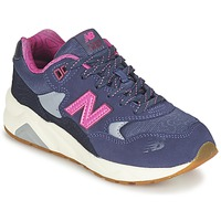 Shoes Girl Low top trainers New Balance KL580 Violet / Pink