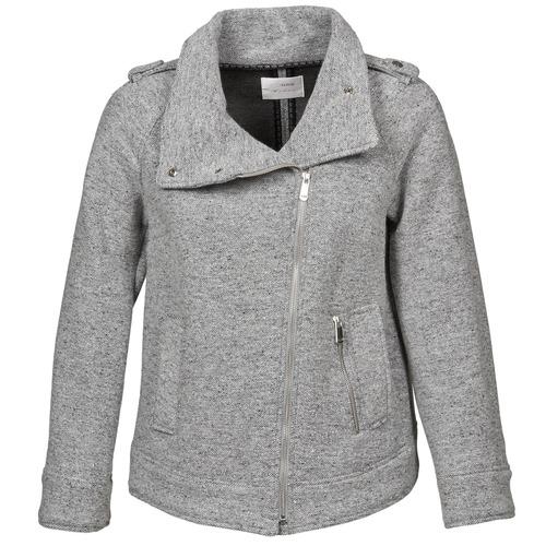 material Women coats Gas CRISSY Grey