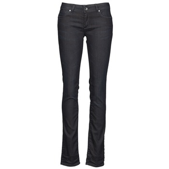 material Women straight jeans Gas BRITTY Blue / Dark