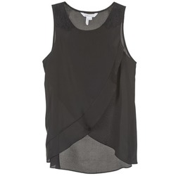 material Women Tops / Sleeveless T-shirts BCBGeneration 616725 Black