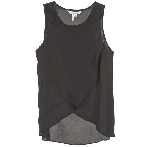 material Women Tops / Sleeveless T-shirts BCBGeneration 616725 Black