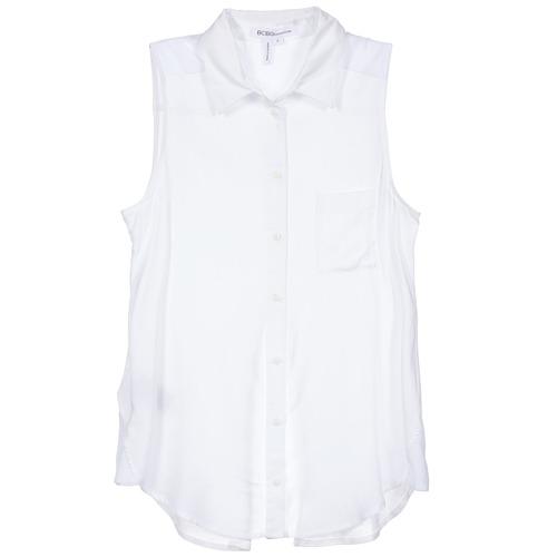 material Women Shirts BCBGeneration 616953 White
