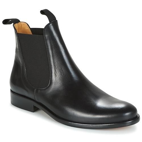 Shoes Men Mid boots Brett & Sons LOUVAL Black