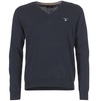 jumpers Gant COTTON WOOL V-NECK