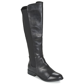 Shoes Women Boots Elue par nous VORETTE Black