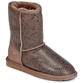 Shoes Women Mid boots EMU STINGER PRINT LO Brown