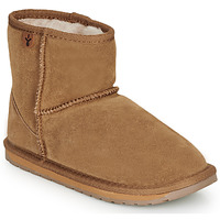 Shoes Children Mid boots EMU WALLABY MINI Chatain
