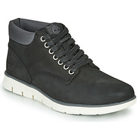 Shoes Men High top trainers Timberland BRADSTREET CHUKKA LEATHER Black