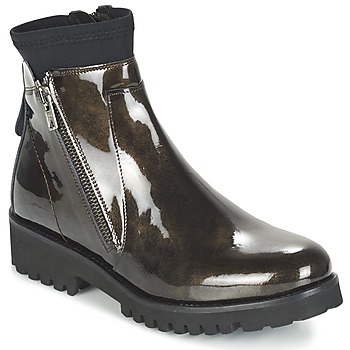 Shoes Women Mid boots Regard REJABI BRONZE / PATENT