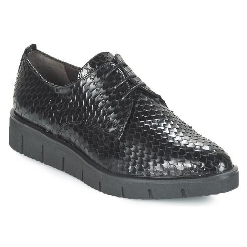 Shoes Women Derby shoes Perlato MEQUINI Black