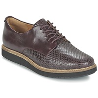 Shoes Women Derby shoes Clarks GLICK DARBY AUBERGINE