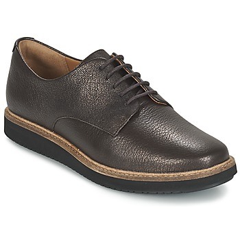 Shoes Women Derby shoes Clarks GLICK DARBY Brown