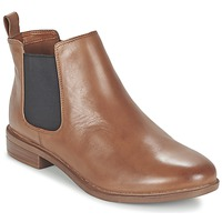 Shoes Women Mid boots Clarks TAYLOR SHINE Brown