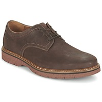 Shoes Men Derby shoes Clarks NEWKIRK PLAIN Brown