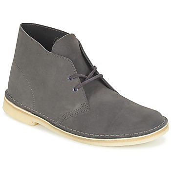Shoes Men Mid boots Clarks DESERT BOOT Grey