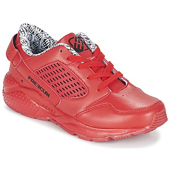 Shoes Boy Low top trainers Freegun FADSA Red