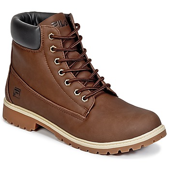 Shoes Men Mid boots Fila MAVERICK MID Brown