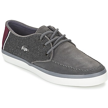 Shoes Men Boat shoes Lacoste SEVRIN 316 3 Grey