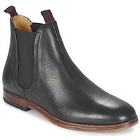 Shoes Men Mid boots Hudson TAMPER CALF Black
