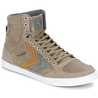 Shoes High top trainers Hummel TEN STAR DUO OILED HIGH Brown