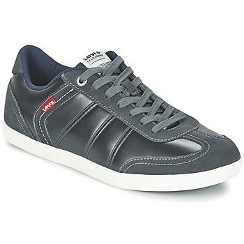 Shoes Men Low top trainers Levi's LOCH Grey