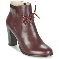 Shoes Women Low boots M. Moustache EMMA BORDEAUX / Black