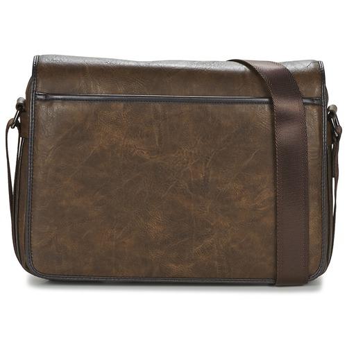Bags Men Messenger bags Casual Attitude FILOU Brown