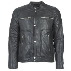 material Men Leather jackets / Imitation leather Redskins MONTANA Black