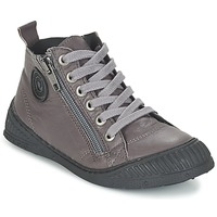 Shoes Boy High top trainers Pataugas ROCKET/N Grey